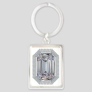 Diamond Pin Keychains