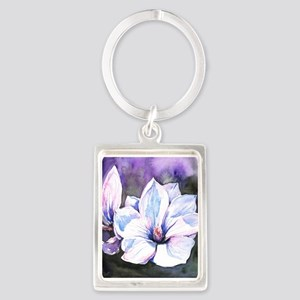Magnolia Painting Keychains