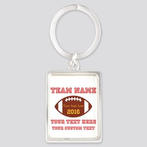 Football Personalized Keychains