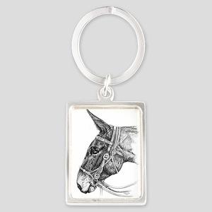 A Mule Called Cheyenne Keychains