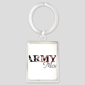 Mom Army_flag Keychains