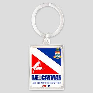 Dive The Caymans Portrait Keychain