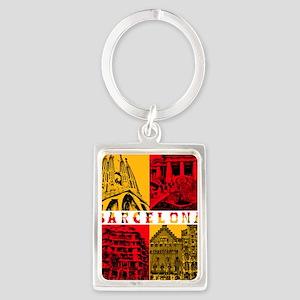 Barcelona_10x10_apparel_AntoniGa Portrait Keychain