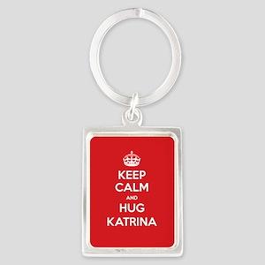Hug Katrina Keychains