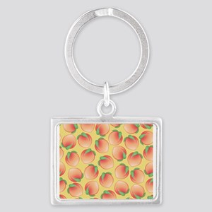 Cute Peach Pattern Keychains