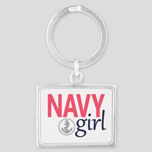 Navy Girl Keychains