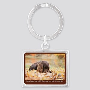 Story of Love Landscape Keychain