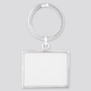 rising sun flag for colored shi Landscape Keychain