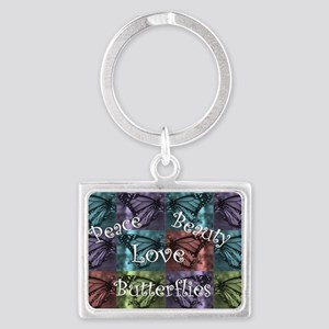 butterflyMommy2 Landscape Keychain