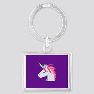 Emoji One Rectangle Keychains - CafePress