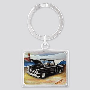 Classic Truck Landscape Keychain