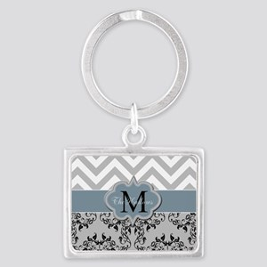Monogram, Damask and Chevron Keychains