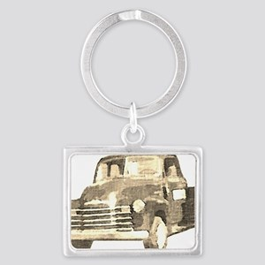 054-TruckOnly-vintage-clear Landscape Keychain
