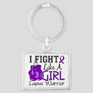 Fight Like A Girl Lupus 15.2 Landscape Keychain
