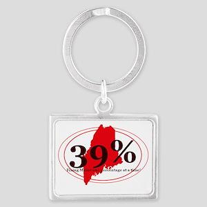 39% 1 Landscape Keychain