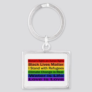 Political Protest Keychains