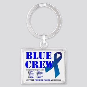 blue crew 4men Landscape Keychain