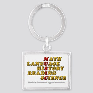 Music Is The Core Of A Good Edu Keychains