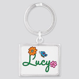 Lucy Landscape Keychain