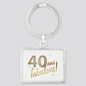 40 and Fabulous Keychains