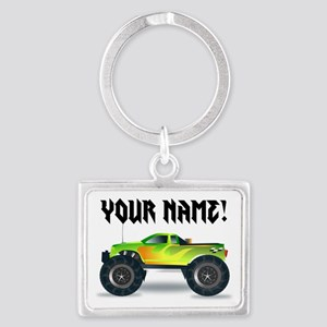 Personalized Monster Truck Keychains