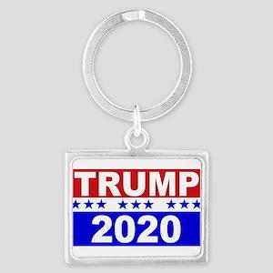 Trump 2020 Landscape Keychain