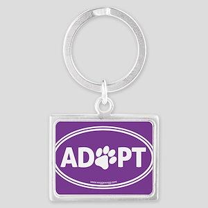 Adopt Landscape Keychain