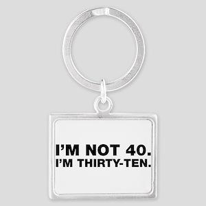 40th birthday Keychains