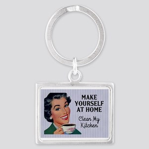 Make Yourself At Home Keychains