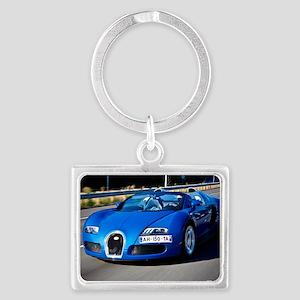 Bugatti9 Landscape Keychain