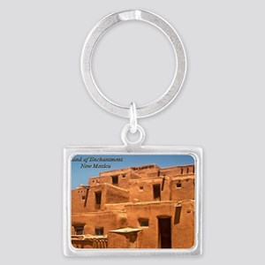 Taos11coverbig Landscape Keychain