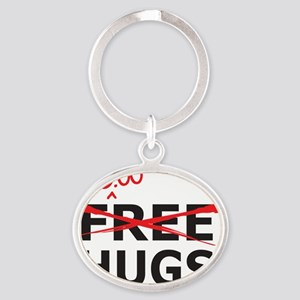 freehugs Oval Keychain