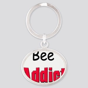 Bee88 Oval Keychain
