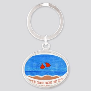 Shannon iPhone 4 Slider Oval Keychain