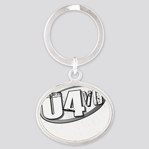 The Uptown 4 Official Logo Oval Keychain