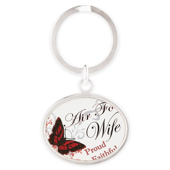 air force wife butterfly red
