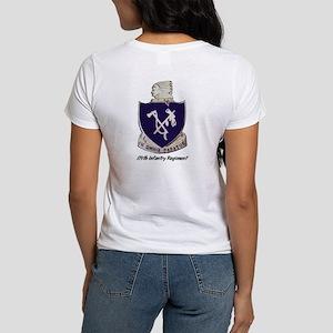 Women's T-shirt w/ 179th Crest Back