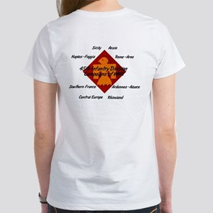 Women's T-shirt w/ WWII Campaigns