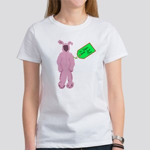 Christmas Story Pink Bunny Suit Women's T-Shirt