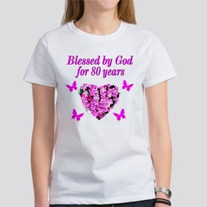 BLESSED 80TH Women's T-Shirt