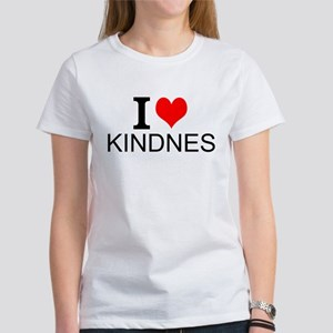 I Love Kindness Women's Classic T-Shirt