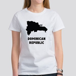 Dominican Republic Silhouette T-Shirt