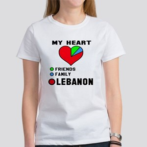My Heart Friends, Fa Women's Classic White T-Shirt
