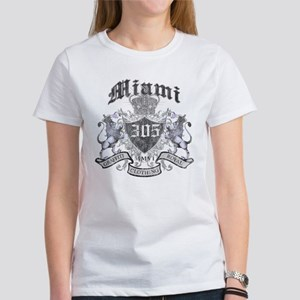 """MIAMI 305 LION CREST"" Women's T-Shirt"