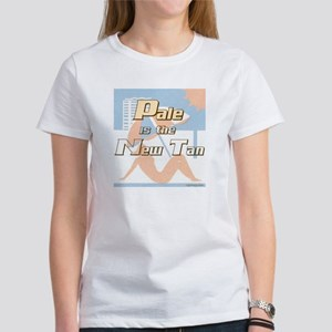 Pale is the New Tan T-shirts Women's T-Shirt
