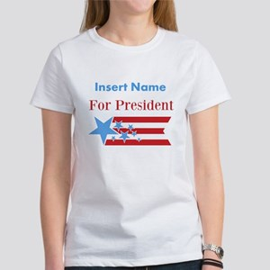 Personalized For President Women's T-Shirt
