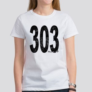 Distressed Denver 303 T-Shirt
