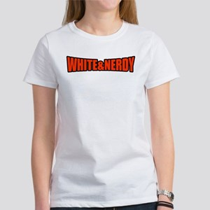 White & Nerdy Women's T-Shirt