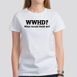 What would Heidi do? Women's T-Shirt