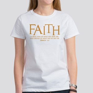Hebrew 11:1 Women's T-Shirt